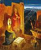 Molnár C. Pál: 1894 - 1981: Holy family: 61×51 cm:, C. Pál Molnár, Click for value