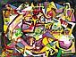 Litkey György: 1907 - 1975: Composition: 60×80 cm: