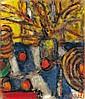 Czóbel Béla: 1883 - 1976: Still life: 55×46,5 cm:, Bela Czobel, Click for value