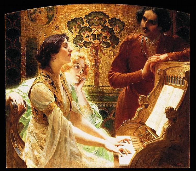 Alois Hans Schramm: Bécs, 1864 - 1919, Bécs: Piano