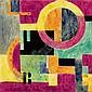 Bortnyik Sándor: 1893 - 1976: Composition: 12×12, Sandor Bortnyik, Click for value