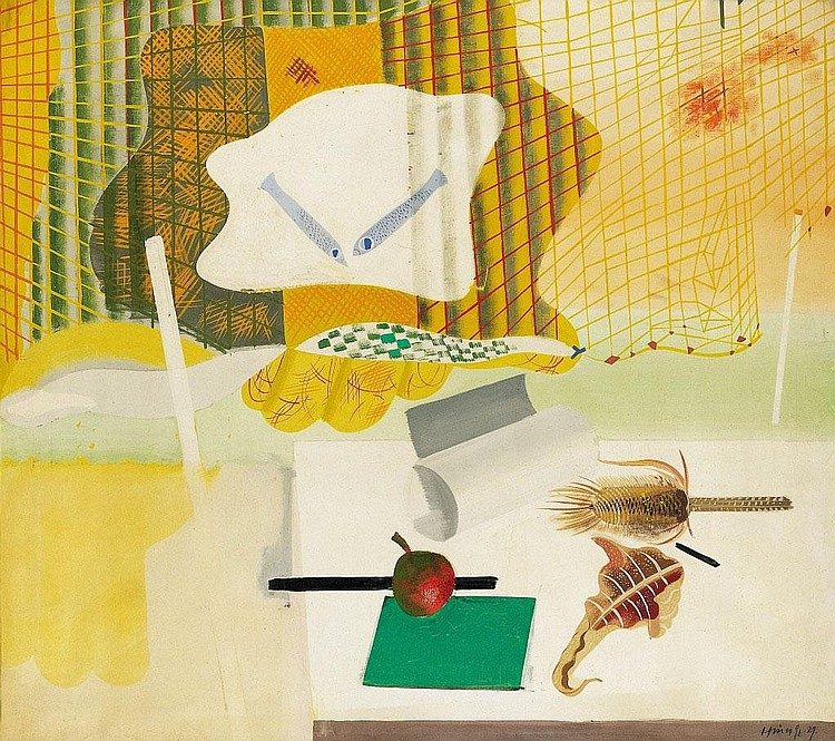 Hincz Gyula: 1904 - 1986: Composition, 1929: 87×97