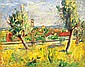 Basch Andor: 1885 - 1944: Landscape in southern