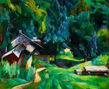 Zugliget Detail ('I live here'), 1926
