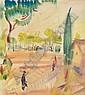 Márffy Ödön 1878-1959 Park Scene 32×28,5 cm Mixed, Odon Marffy, Click for value