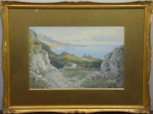 Arthur Suker (British, 1857-1902), South Devon Coa