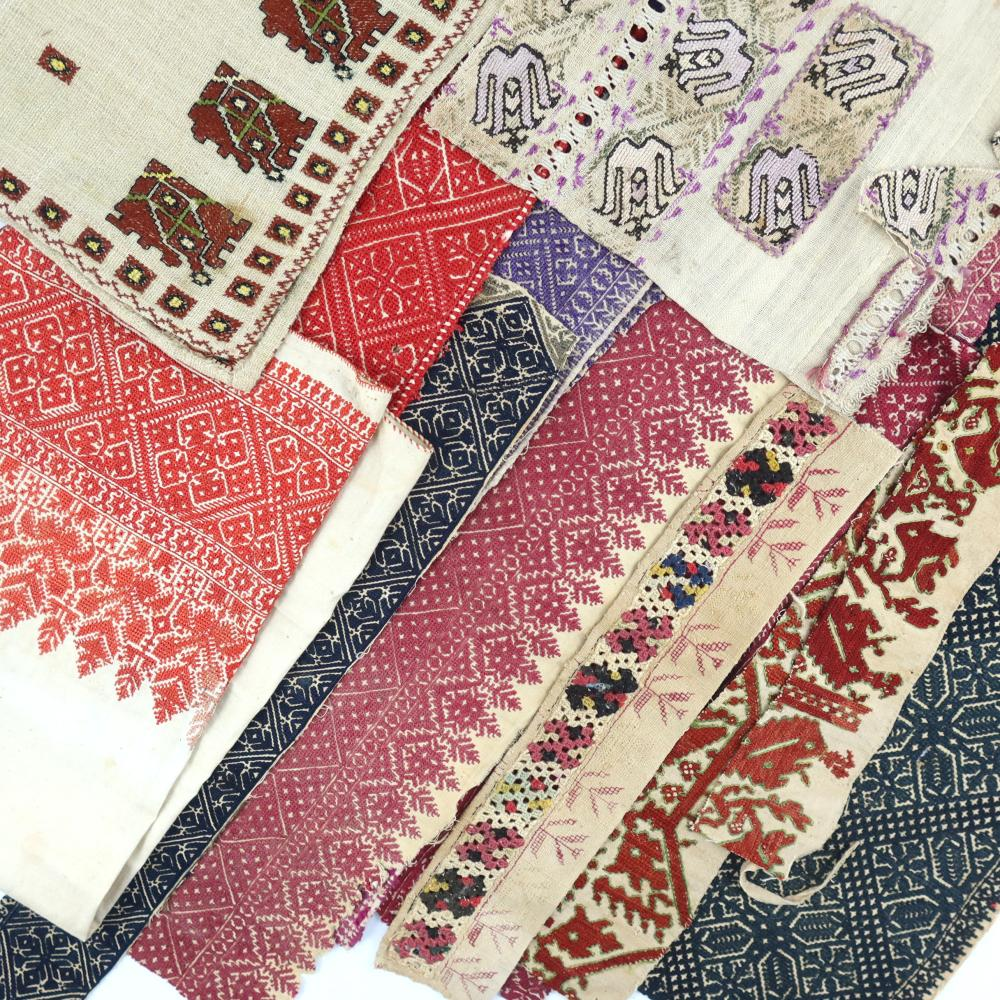 Moroccan embroideries, perhaps 19th cent