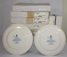 Twelve Wedgwood collector's plates, from the 'Wedgwood Blue and White Colle