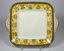 A Wedgwood bone china part tea set, India pattern. (45+)