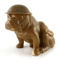 A Royal Doulton Tommy Bulldog figure, mo