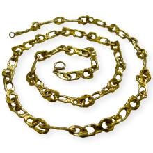 Tiffany & Co. Gold Link Necklace circa 1970