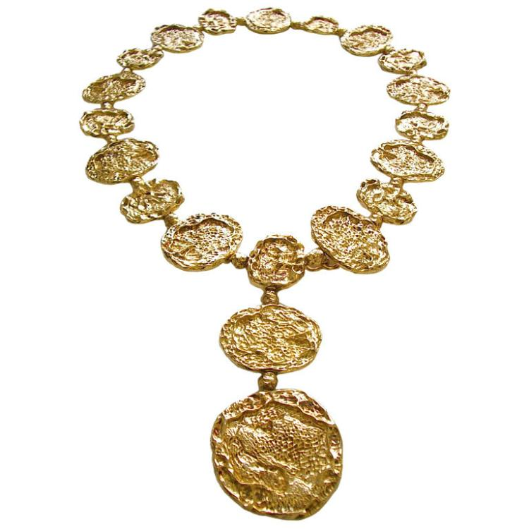 Cartier  Vermeil Necklace- Belt circa 1970