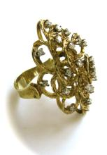 A Gold and Diamond Ring, Italy Circa 1960