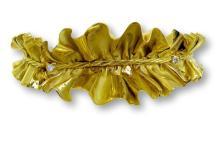 1980 Anna Maria Cammilli Gold Ruff Choker