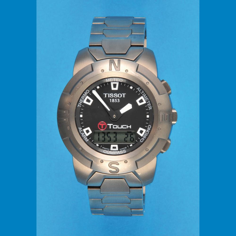 "Tissot 1853 ""Touch"" Titan wristwatch"