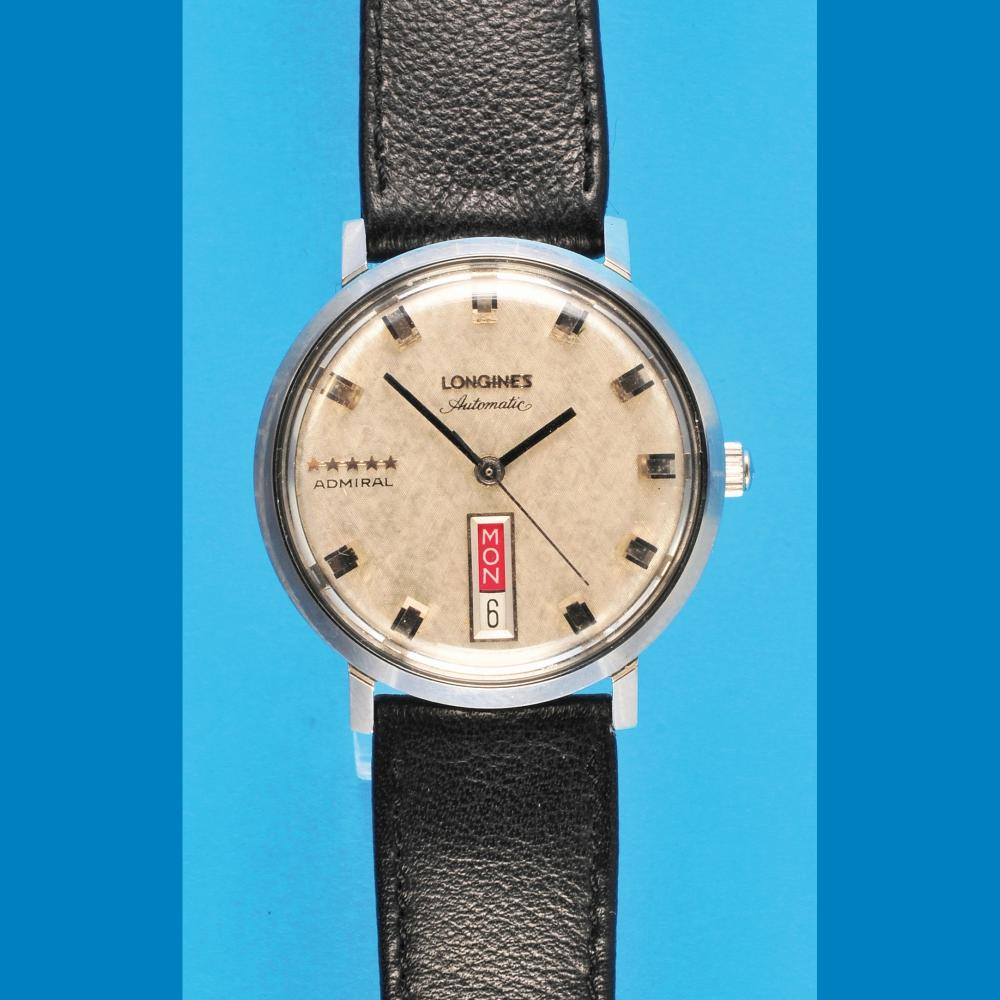 Longines Admiral 5-star automatic wristwatch