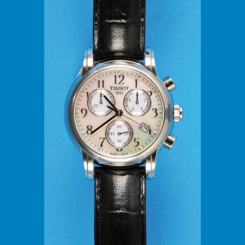 Tissot Dressport wrsitwatch chronograph