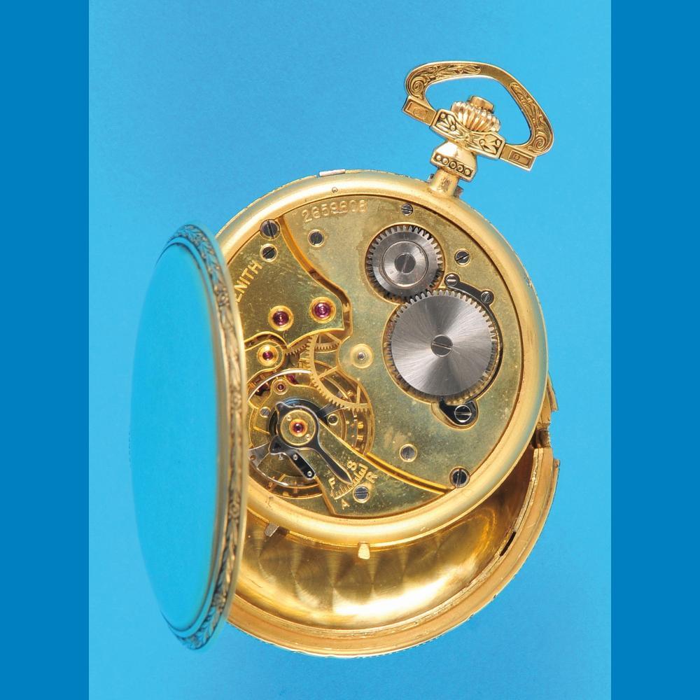 Zenith golden tailcoat watch