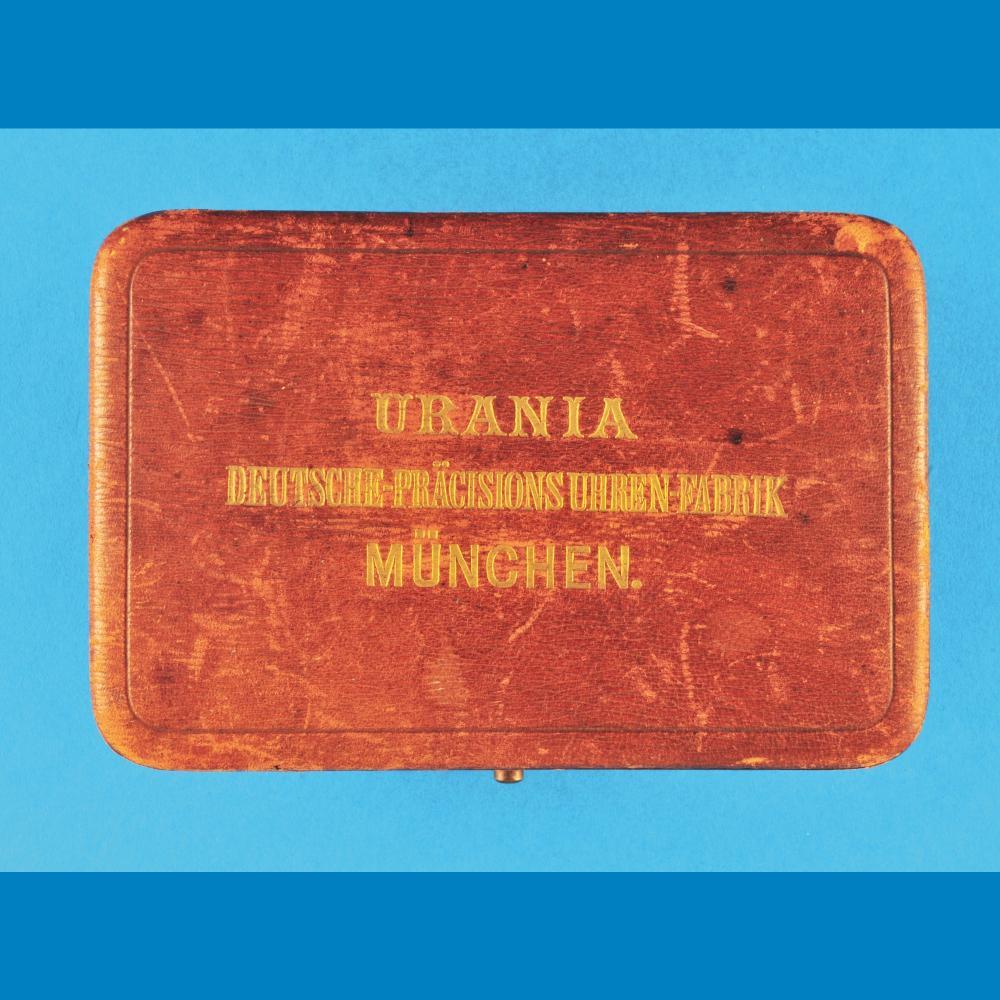 Original case, Urania Deutsche Präcisions-Uhrenfabrik, München