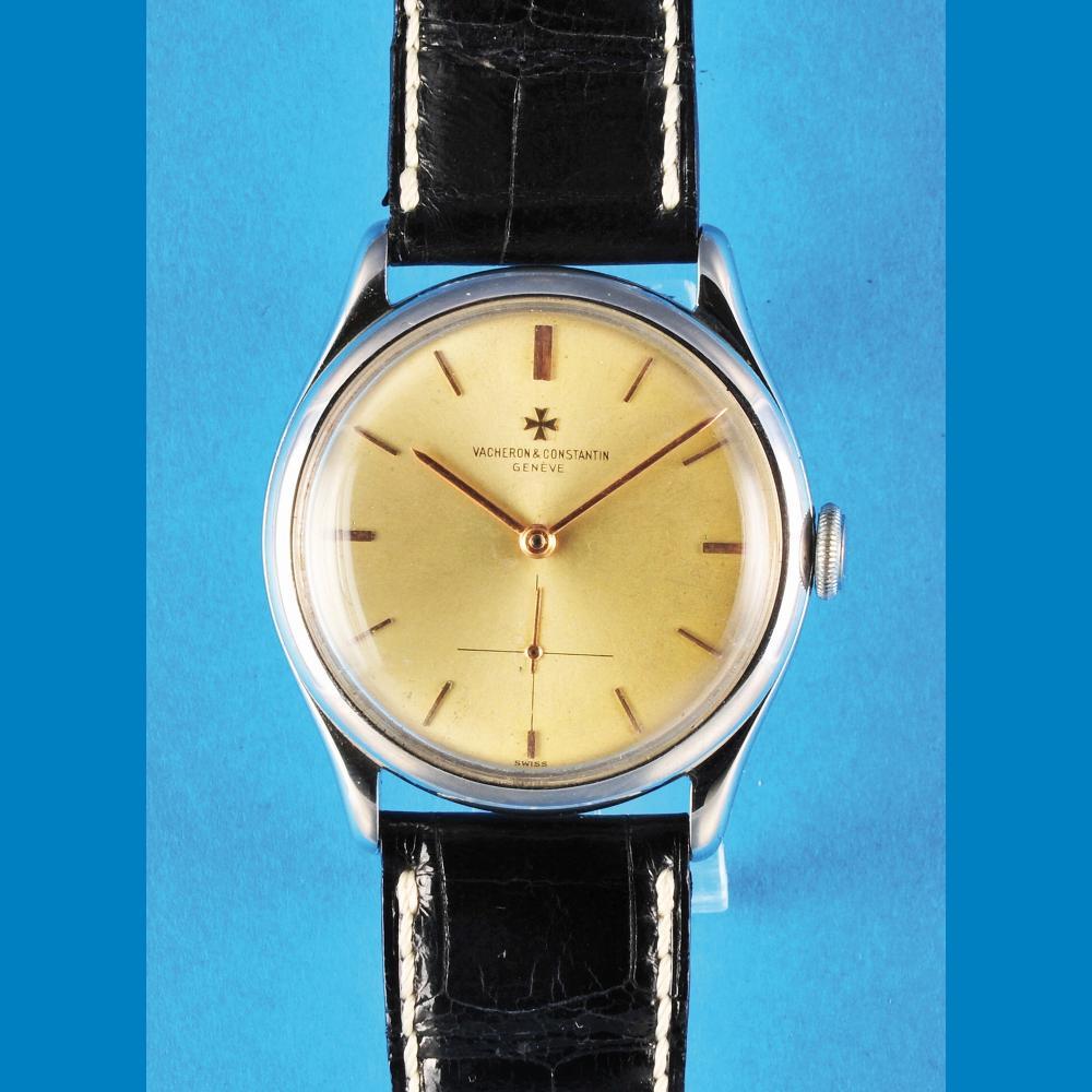 Vacheron & Constantin Genève, steel wristwatch