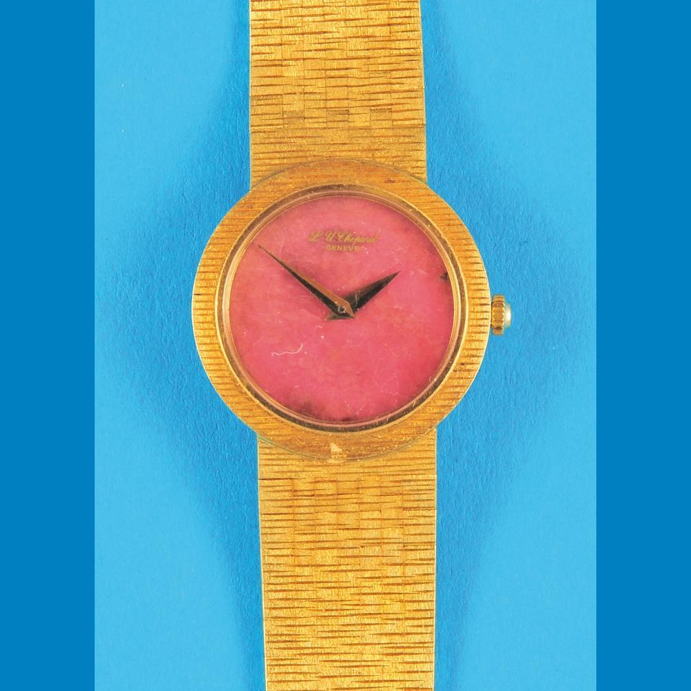 L.-U.Chopard, Genève, ladies golden wristwatch