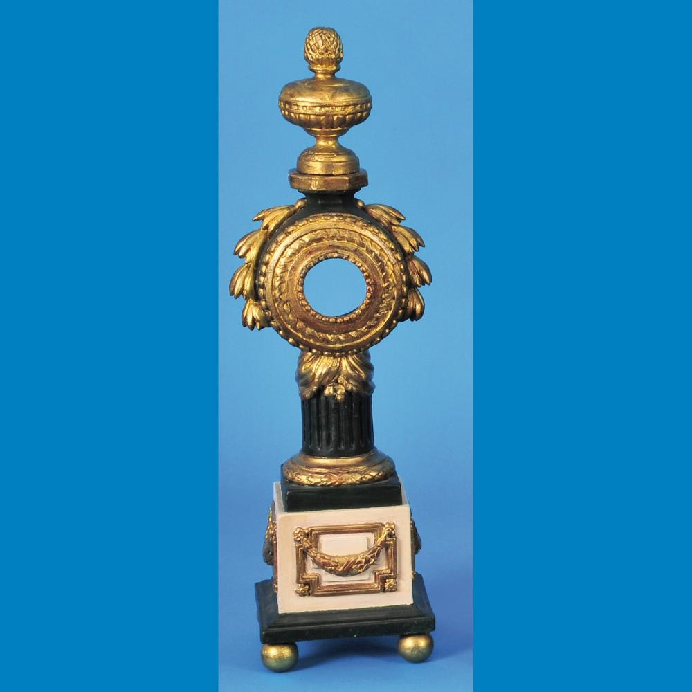 Large pocket watch stand, baroque