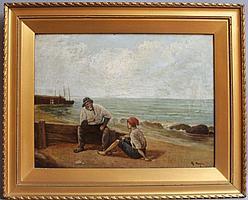 Rose Douglas (act.1893-1898) An old salt
