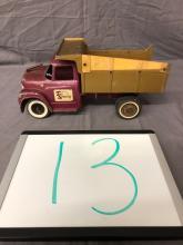 Lot 13: Ertl International Loadstar 1600 Dump Truck
