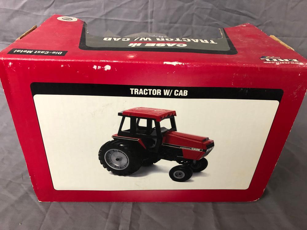 Lot 19: 1/16th Scale Case IH Tractor w/ Cab