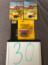 Lot 30: (3) 1/64th Scale Trailers