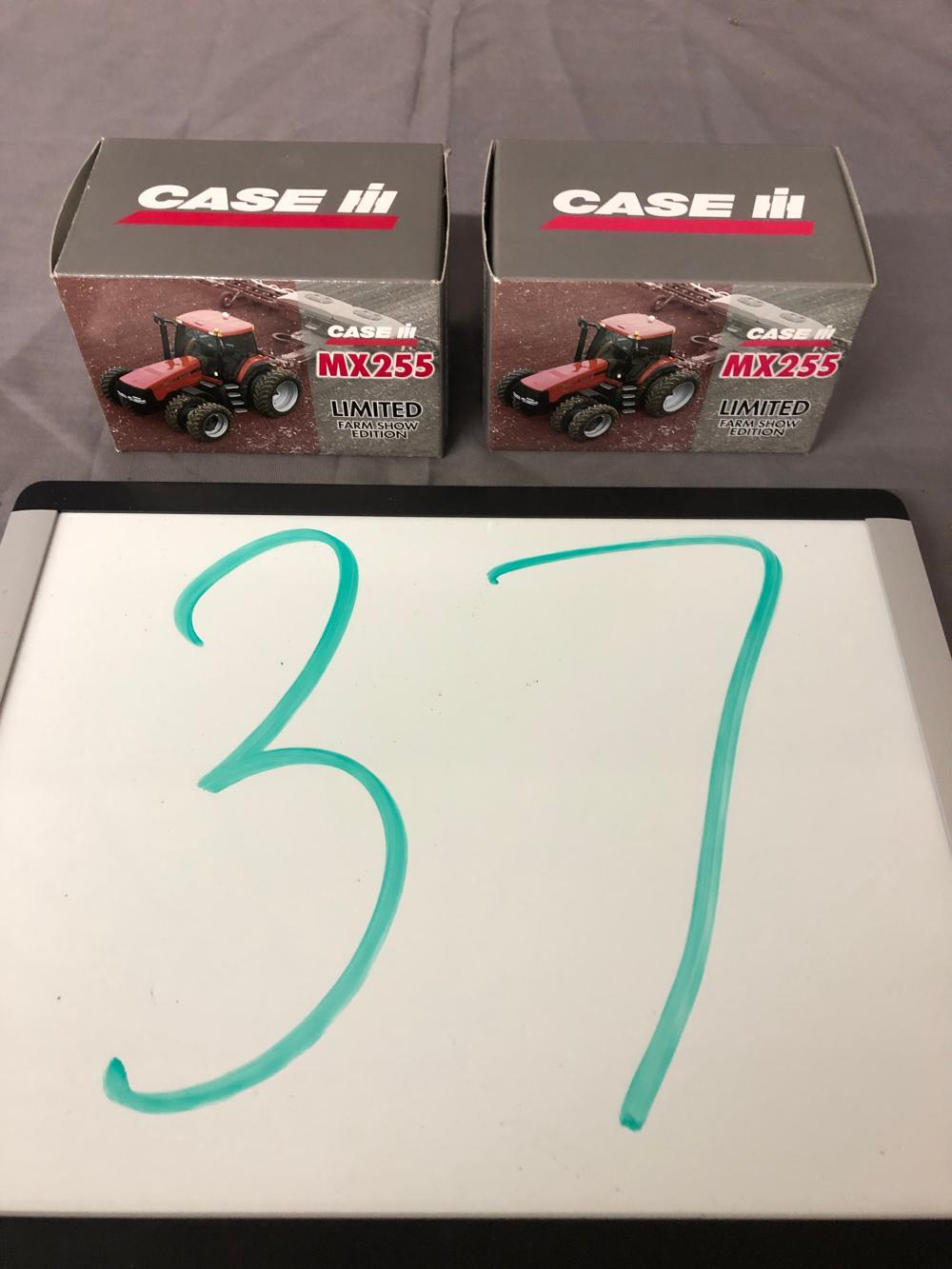 (2) 1/64th Scale Case IH MX255 Tractors