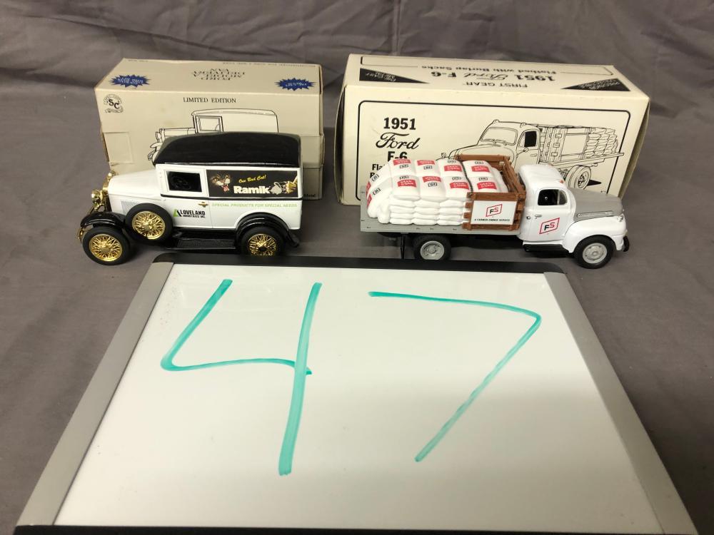 (2) Toy Trucks