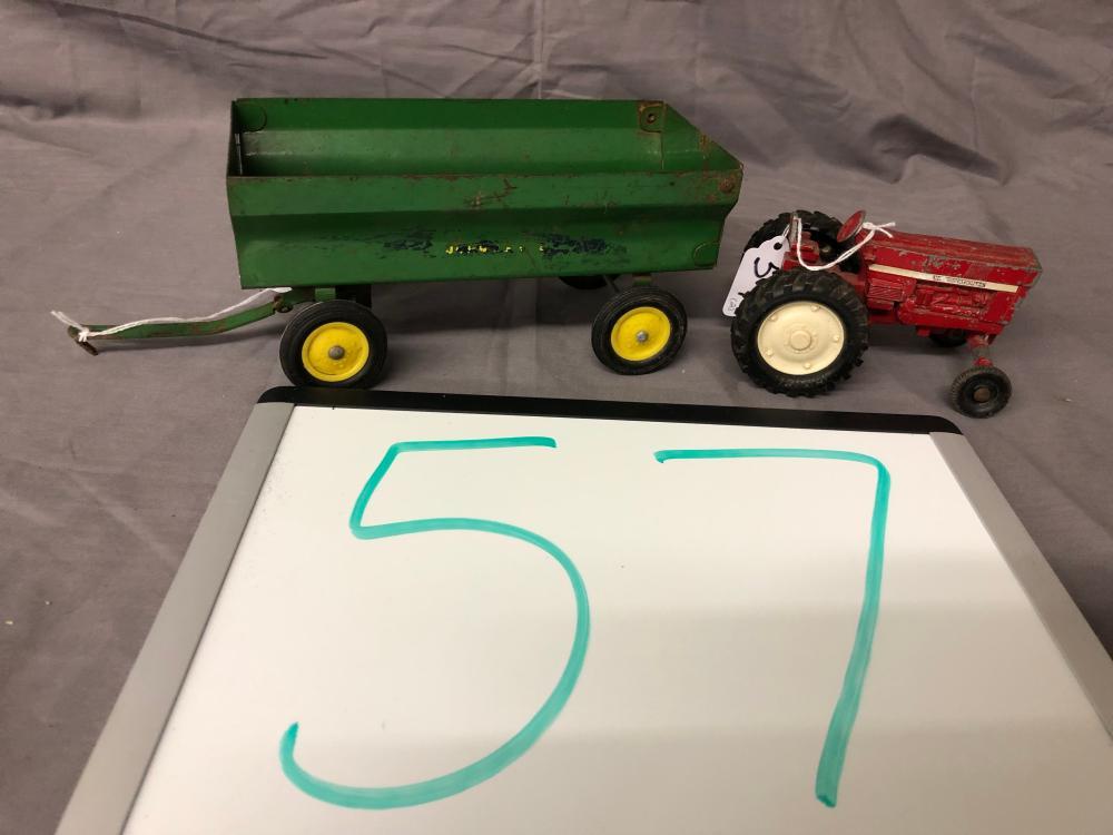(2) Misc. Farm Toys