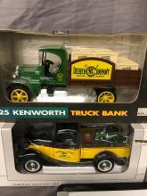 Lot 65: (4) 1/25th Scale John Deere Trucks