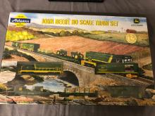 Lot 71: John Deere HO Scale Train Set