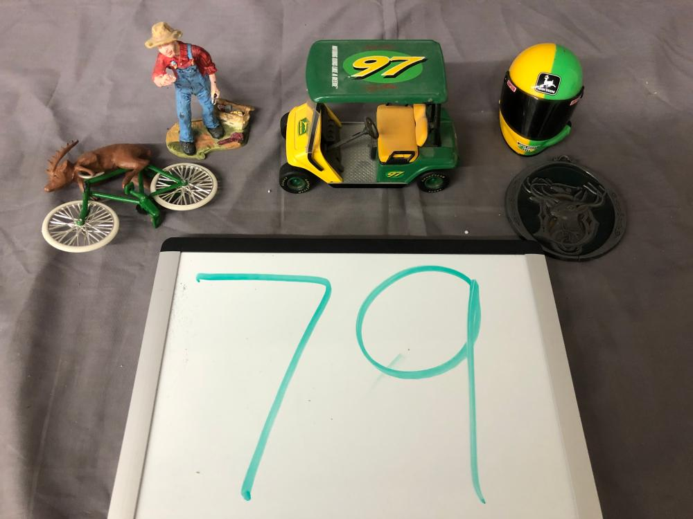Lot 79: Misc. John Deere Items