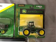 Lot 73: 1/64th Scale John Deere Tractors & Sprayer