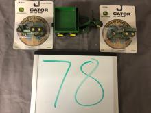 Lot 78: (3) John Deere Gators