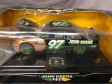 Lot 85: (3) 1/24th Scale Chad Little John Deere Cars
