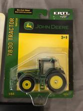 Lot 88: 1/64th Scale John Deere Tractor & Field Cultivator