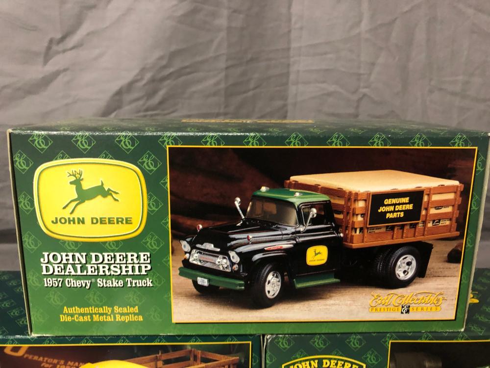 Lot 89: (3) 1/25th Scale John Deer Pickups
