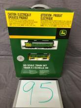 Lot 95: John Deere HO Scale Train Set
