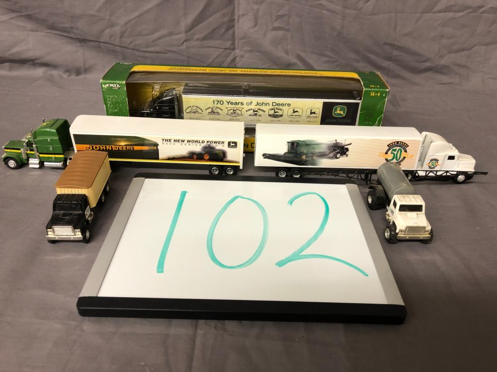 (5) 1/64th Scale Trucks