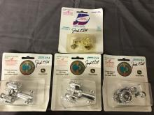 Lot 103: (4) 1/64th Scale John Deere Expo Ornaments