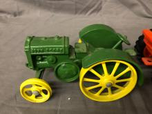 Lot 104: (2) 1/16th Scale John Deere Tractors