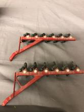 Lot 123: 1/32nd Scale Case IH 4894 & (2) Plows