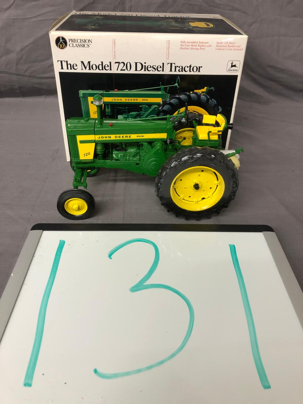 Lot 131: 1/16th Scale Precision John Deere 720 Diesel