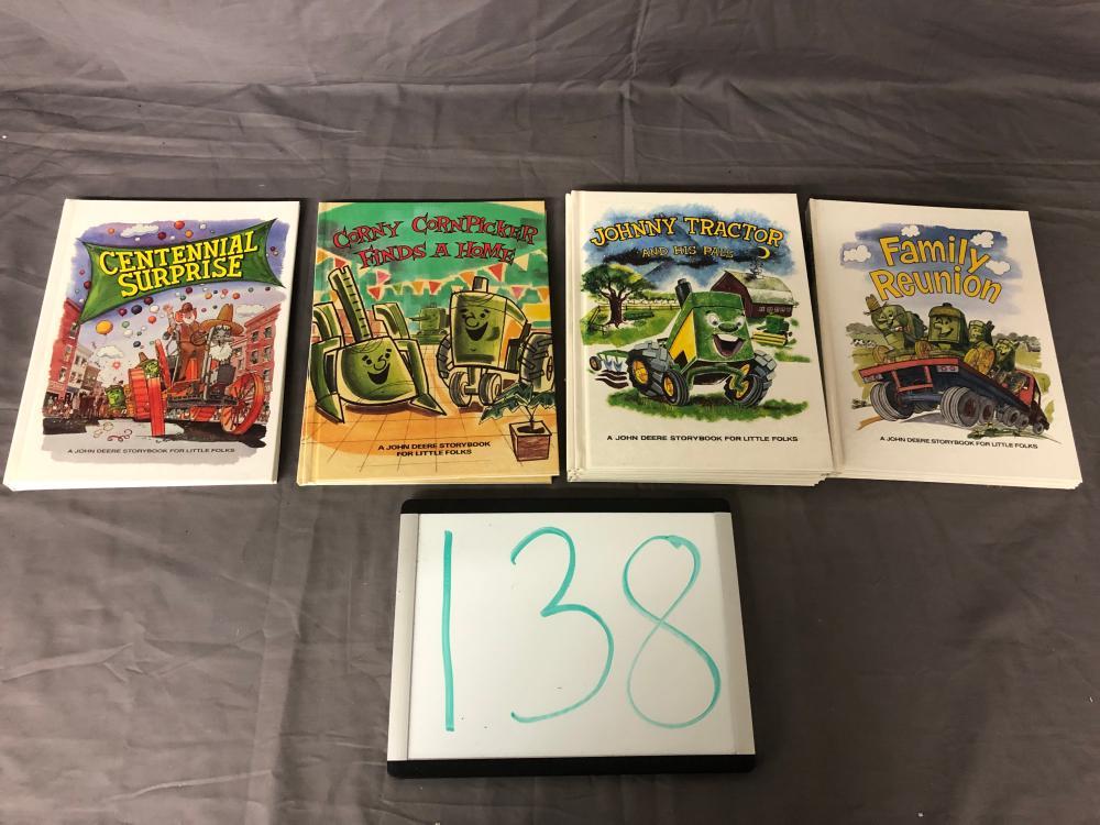 John Deere Storybooks For Little Folks