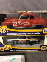 Lot 136: (4) 1/24th Scale NASCAR Cars