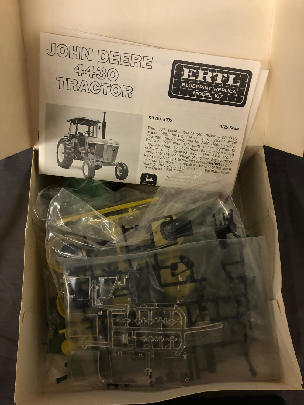Lot 145: 1/25th Scale John Deere 4430 Model Kit